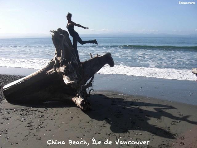 China Beach Vancouver Island échos verts