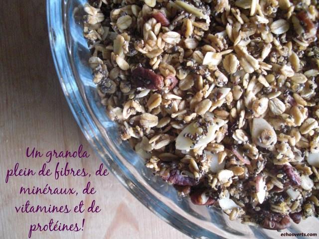 Granola maison- copyright- échos verts