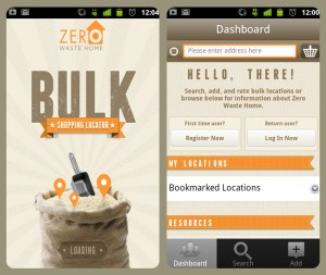 Zero waste home Bulk application