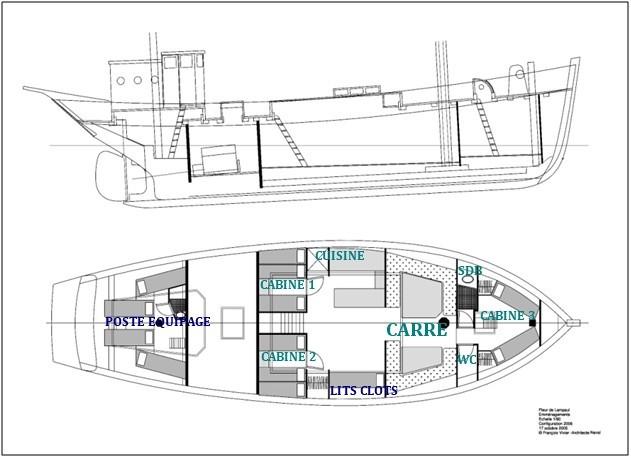 Plan Fleur de Lampaul- copyright nord et croisière
