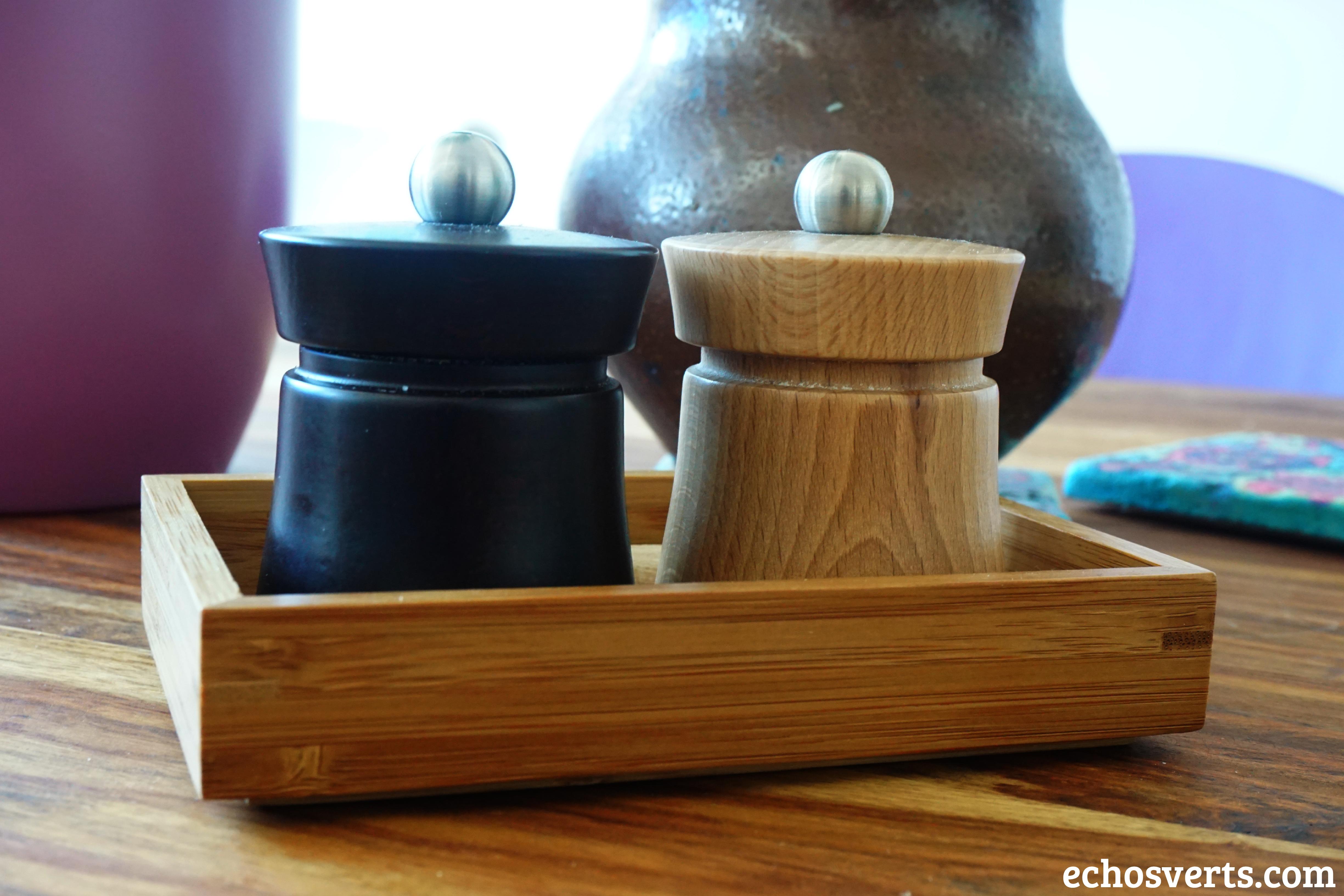 Salière poivrière en bois peugeot- echosverts.com