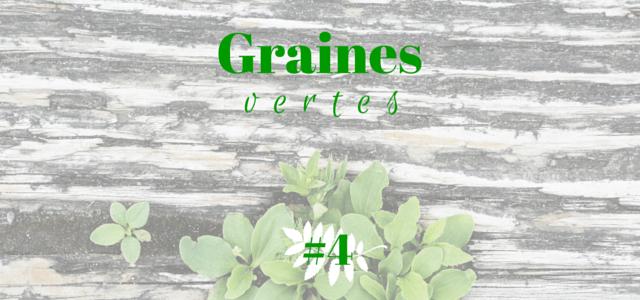 Graines vertes #4 echosverts.com