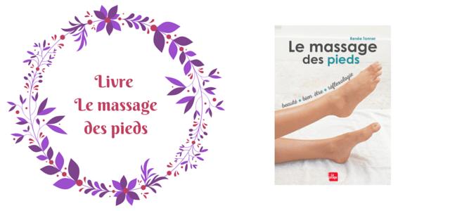 Massage des pieds réflexologie livre La plage