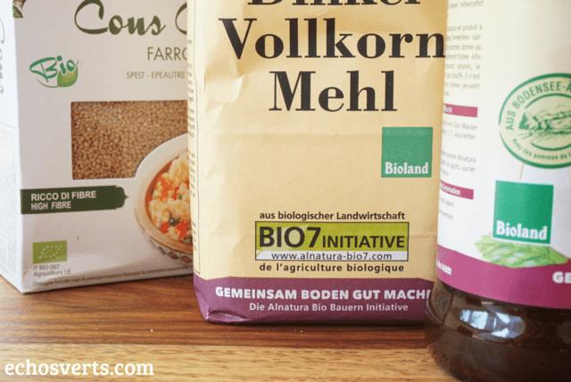 Labels bio echosverts.com