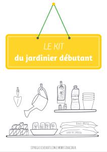 Kit pour jardiniers débutants