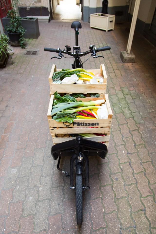 Patisson Paris livraison à vélo