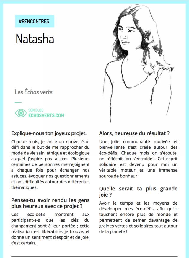 Natasha Edition Spéciale Joyeux Idécologie