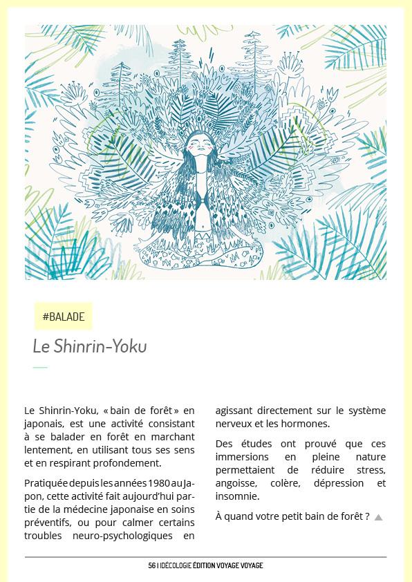 Idécologie Editions Spéciales Shinrin Yoku