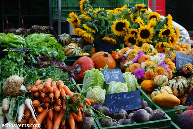 Fruits et légumes marché Freiburg echosverts.com