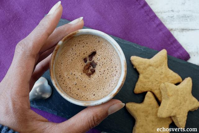 chocolat chaud vegan echosverts.com