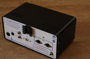 Rear view of the finished Echotapper Vintage Echo Machine