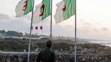 صورة تعزيزات عسكرية جزائرية على الحدود التونسية