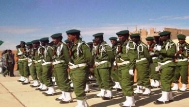 صورة خمسة عشر دركيا موريتانيا من المشاركين في القوة الأممية بإفريقيا الوسطى يدخلون في إعتصام مفتوح احتجاجا على ظروفهم