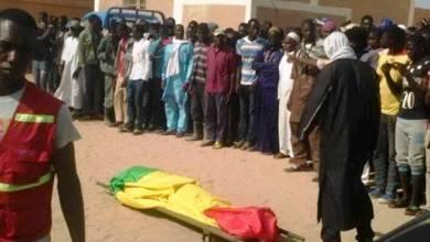 """صورة الجالية المالية تمنع دفن مواطن """"مالي """" توفي بعد قفزه من سيارة للشرطة بالميناء"""