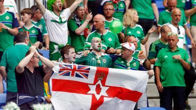 """صورة مشجع أيرلندي يموت """"فرحا"""" بفوز منتخب بلاده"""
