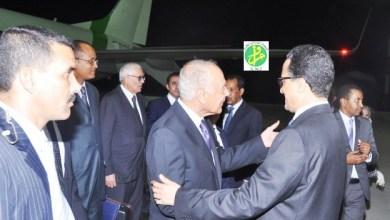 صورة الامين العام للجامعة العربية نرجوا  أن تكون المشاركة في قمة نواكشوط عالية
