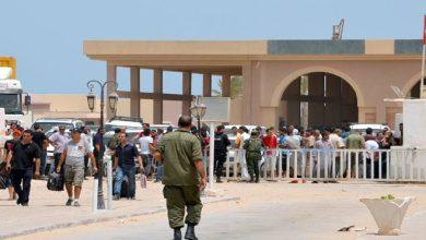 صورة اشتباكات عنيفة قرب معبر رأس جدير الحدودي بين تونس وليبيا تتسبب بإغلاقه لساعات