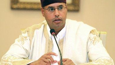 صورة ليبيا تطالب المحكمة الجنائية بالتوقف عن ملاحقة سيف الإسلام