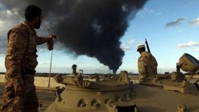 صورة 23 قتيلاً في انفجار سيارة ملغومة استهدفت الجيش الليبي