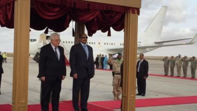 صورة البيان الختامي لزيارة الرئيس أبو مــازن لموريتانيا