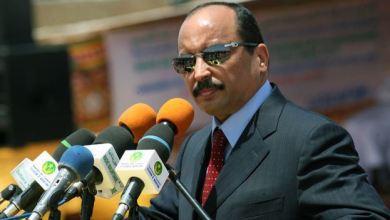 """صورة ولد عبد العزيز: موريتانيا  قدمت نموذجاً ناجحاً بعد أن أطلقت """"الحوار الوطني الشامل"""""""