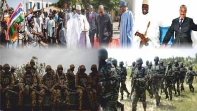 صورة RFI: ولد عبد العزيز يتوسط لحل الأزمة الغامبية والسينغال تنشر جنودها على طول الحدود مع غامبيا