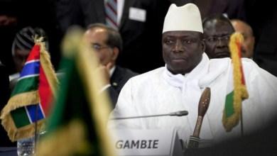 """صورة غامبيا : إتهامات لـ """"جامى"""" بسرقة11 مليون دولار و """"بارو"""" يطلب من الإكواس تأمينه ويعتقل ضباطا وجنودا"""