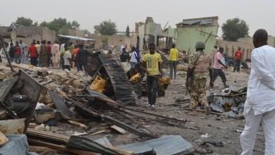 صورة نيجيريا: تصفية 3 فتيات قبيل تنفيذهن عمليات انتحارية