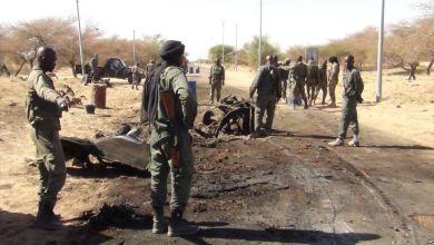 """صورة مالي : 45 قتيلا وأكثر من 100 جريح في إنفجار داخل ثكنة عسكرية للقوات الدولية  بـ """" غاو """""""