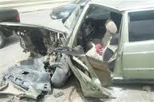 صورة حادث بشرع بالقرب من مدينة آلاك