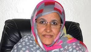 صورة وزيرة الزراعة ولد عبد العزيز  انقذ البلد وكان بارقة أمل لكل المستضعفين في البلد