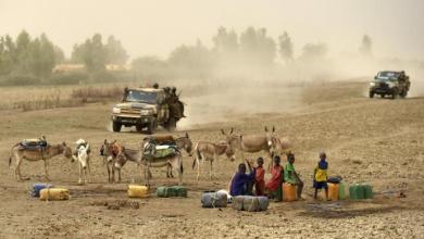 صورة قتلى من الجيش المالي قرب حدود موريتانيا