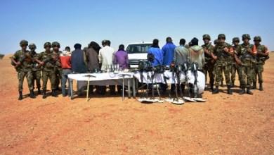صورة الجزائر تعتقل 9 موريتانيين قرب تيندوف
