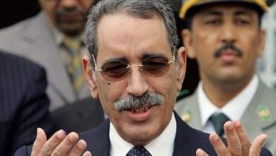 صورة إتهام المخابرات الجزائرية بإغتيال الرئيس الأسبق اعل ولد محمد فال
