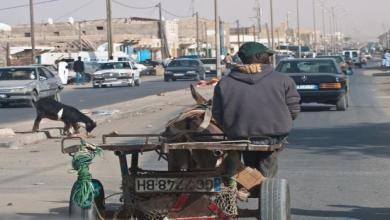 صورة ناقلون يقطعون الطريق بين روصو و نواكشوط إحتجاجا على قانون السير الجديد