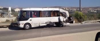 صورة حادث سير على طريق أطار أكجوجت