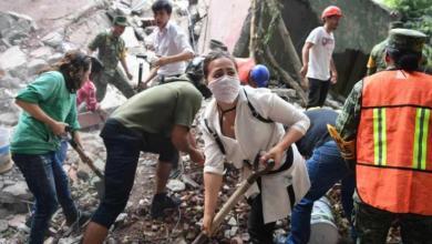 """صورة المكسيك"""" مقتل 21 طفلاً بمدرسة جراء الزلزال الذي ضرب البلاد"""