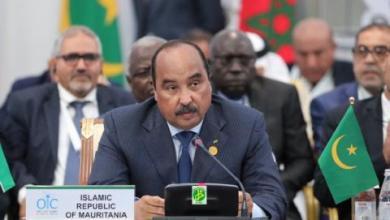 """صورة موريتانيا تلقي كلمة العرب في قمة """"أستانا"""""""
