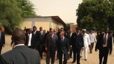 صورة موريتانيا: الرئيس يدخل المحطة الثانية من زيارة ولاية نواكشوط الشمالية