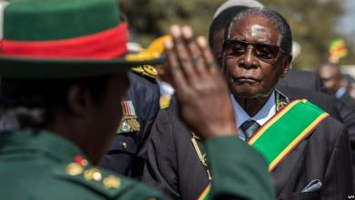 """صورة أنباء عن محاولة انقلاب في زيمبابوي للإطاحة ب""""موغابي"""""""