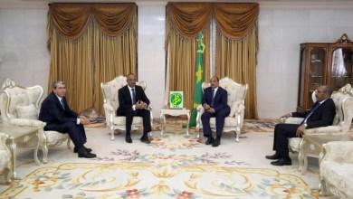 صورة نواكشوط: وزير داخلية الجزائر يلتقي الرئيس والوزير الأول