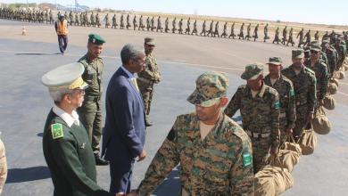 صورة وفاة جندي موريتاني في إفريقيا الوسطى
