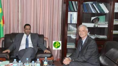 """صورة مسعى رسمي لتطوير علاقات موريتانيا و""""اليونيسيف"""""""