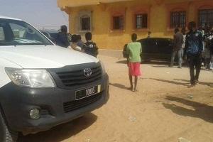 صورة نواكشوط: لص يحتمي بالسلطات من بطش المواطنين