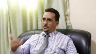 صورة الإفراج عن الدكتور محمد ولد أممد المتهم بالإعتداء على الأمين العام لوزارة الصحة