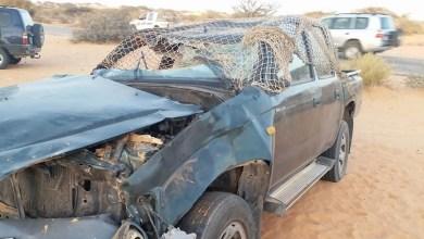 صورة وفاة شخصين وإصابة 10 آخرين في حادث سير قرب واد الناقة