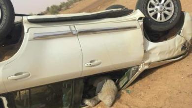 صورة وفاة شخصين وإصابة مرشح لحزب الإتحاد من أجل الجمهورية  في حادث سير