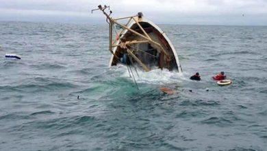 صورة وفاة تسعة أشخاص في انقلاب قارب صيد قرب شواطئ انواكشوط