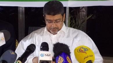 صورة رئيس UPR يؤكد ترشيح النظام لولد الغزواني