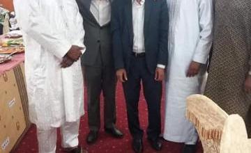 صورة لقاء بين ولد داداه و ولد مولود في النيجر